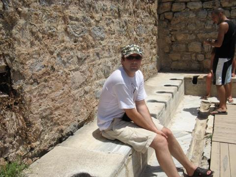 """Efesas - """"reikalų"""" kambarys"""